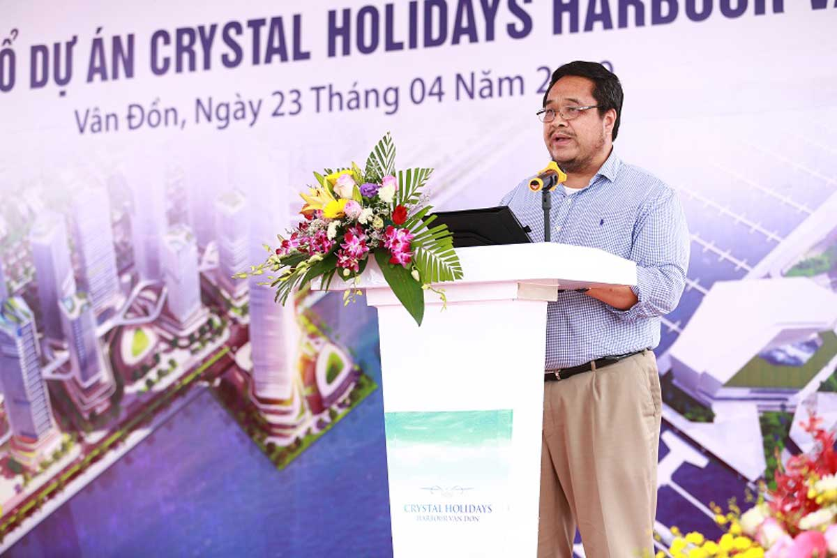 Le dong tho Crystal Holidays Harbour Quang Ninh - Crystal Holidays Harbour