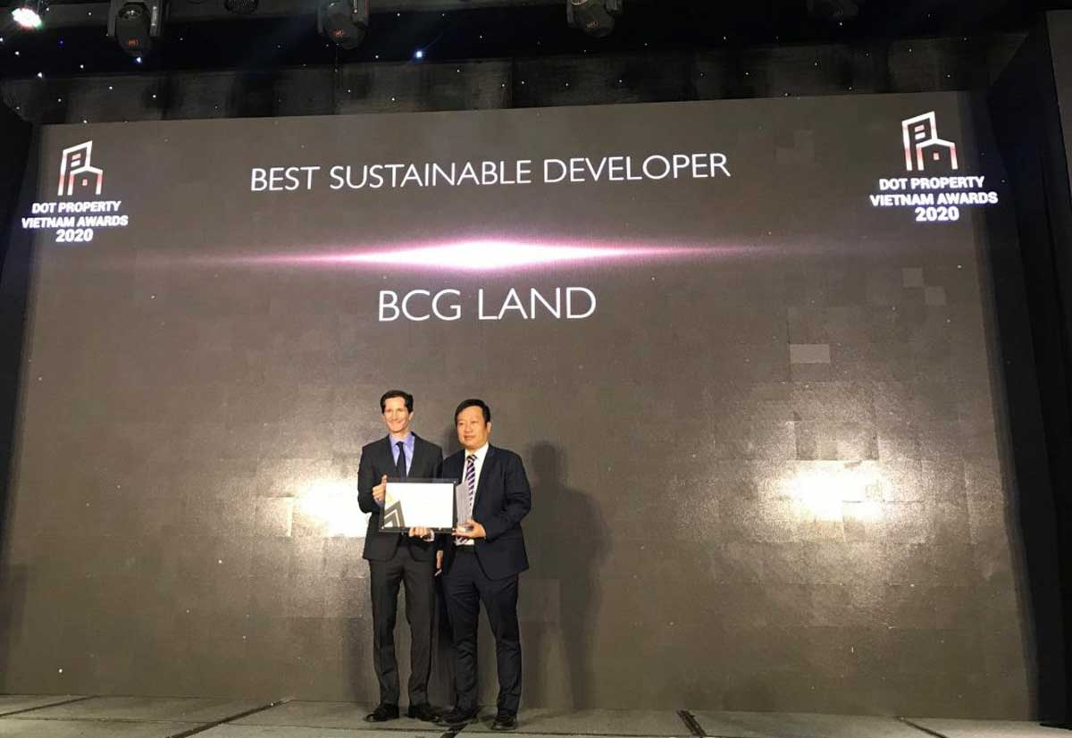 Ong Nguyen Thanh Hung – Tong Giam doc BCG Land nhan giai Best Sustainable Developer Vietnam 2020 - BAMBOO CAPITAL GROUP